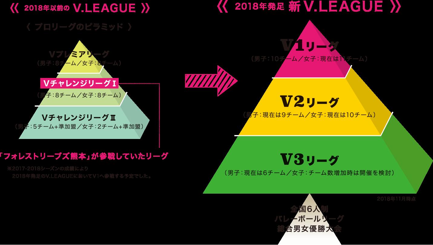 2018年発足 新V.LEAGUE